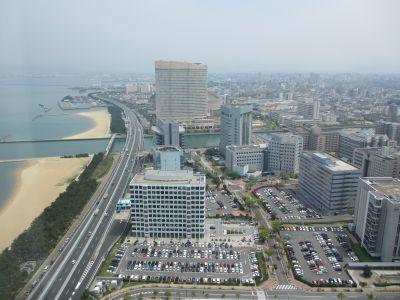 福岡タワーからの眺め1