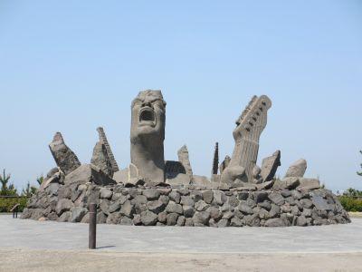 長渕記念の像