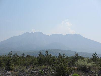 桜島の御岳