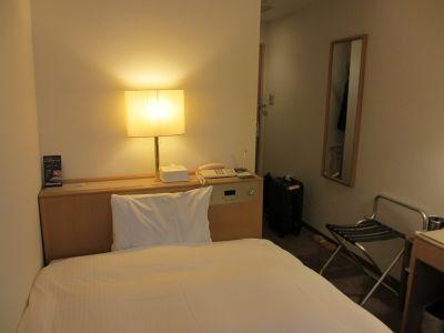 鹿児島の安ホテルから