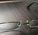 眼鏡のフレームを曲げてしまったか
