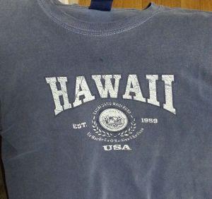 ハワイTシャツ