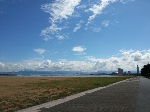 愛宕浜からタワー