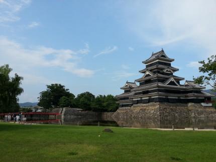 松本城を散歩してきたよ