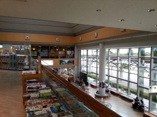 松本空港二階