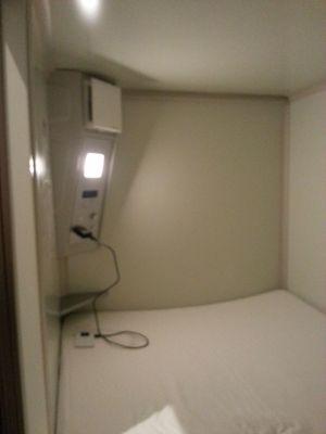広島での宿の話 カプセルホテルCUBE広島