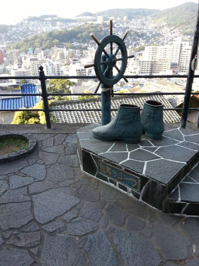 一人旅長崎観光記二日目(その2)追悼平和祈念館、亀山社中跡、出島、新地中華街